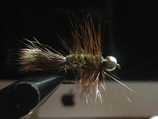 Green Deertail Bugger