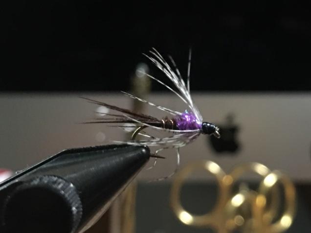 Purple Rain Wet Fly