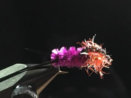 Steelhead Nymph - Purple